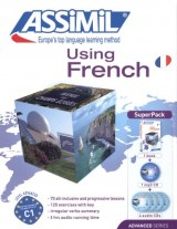 Superpack Using French (Book + CDs + 1cd MP3): French Level 2 Self-Learning Method