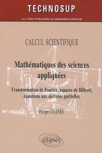 Mathematiques des Sciences Appliquées Transformation de Fourier Espaces Hibert Equations Derivees
