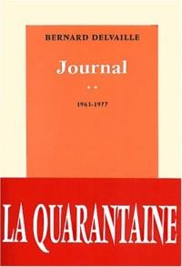 Journal, numéro 2 : années 1963 à 1977