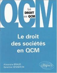Le droit des sociétés en QCM