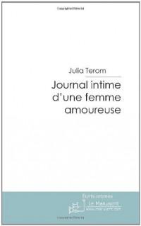 Journal intime d'une femme amoureuse