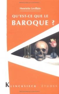 Qu'est-ce que le baroque ?