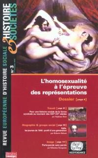 Histoire et societe no 3 : homosexualite a l'epreuve des responsabilites