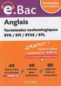Anglais Tles technologiques STG/STI/ST2S/STL