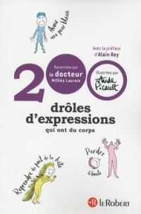 200 drôles d'expressions qui ont du corps
