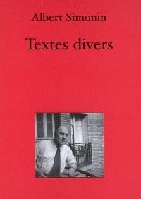 Textes Divers