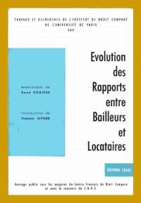 25. Evolution des rapports entre bailleurs et locataires