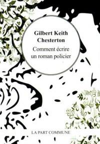 Comment écrire un roman policier