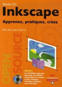 Inkscape : Apprenez, pratiquez, créez (1Cédérom)