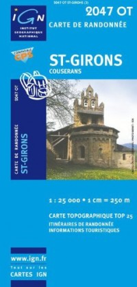 St-Girons : 1/25000