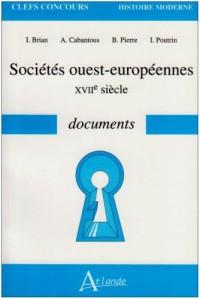 Sociétés ouest-européennes : XVIIe siècle documents