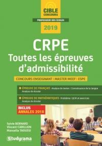 CRPE : Toutes les épreuves d'admissibilité