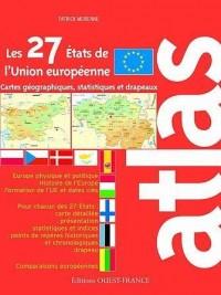 Atlas des 27 Etats Union Europeenne