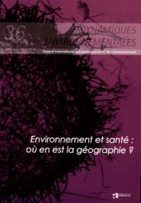 Environnement et Sante