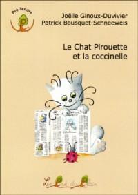 Le Chat Pirouette et la coccinelle
