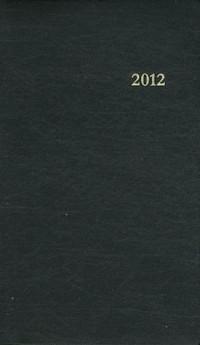 Agenda du Chretien 2012-Noir