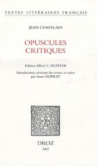 Opuscules critiques