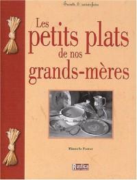 Les petits plats de nos grand-mères