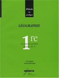 Géographie en classe de 1e L-ES-S (1Cédérom)