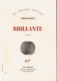 BRILLANT Nouvelle traduit de l'espagnol (Mexique) par Céline Zins