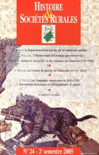 Histoire & Sociétés Rurales, N° 24 :