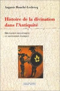 Histoire de la divination dans l'Antiquité