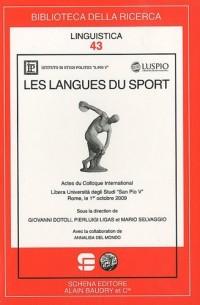 Les langues du sport