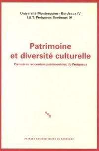 Patrimoine et diversité culturelle : Premières rencontres patrimoniales de Périgueux