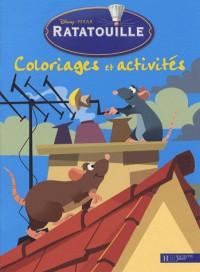 Ratatouille : Coloriage et acitivités
