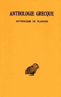 Anthologie grecque, 2e partie : Anthologie de Planude, tome13