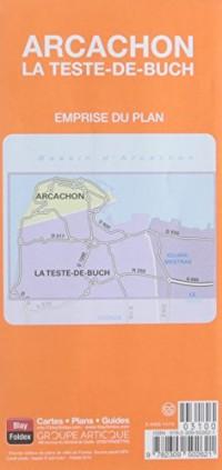 Arcachon La Teste-de-Buch : 1/10 000