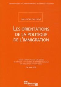Les orientations de la politique de l'immigration : Rapport au Parlement