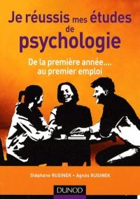 Je réussis mes études de psychologies