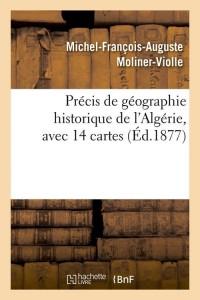 Precis de Géo Hist de l Algérie  ed 1877
