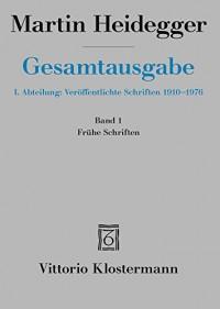Fruhe Schriften 1912-1916