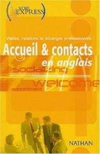 Accueil et contact en anglais