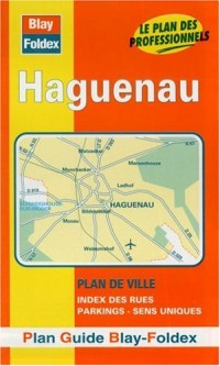 Plan de ville : Haguenau (avec un index)