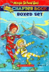 The Magic School Bus Chapter Book Boxed Set, Books 1-8: Penguin Puzzle, The Great Shark Escape, The Giant Germ, Twister Trouble, Space Explorers, The Wild Whale Watch, The Search for the Missing Bones
