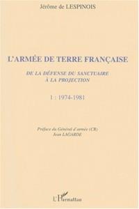 Armée de terre (t1) française (l') de la defense du sa
