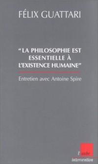 La philosophie est essentielle à l'existence humaine. : Entretien avec Antoine Spire