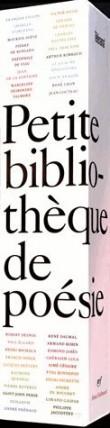 Petite bibliothèque de poésie : Coffret en 36 volumes