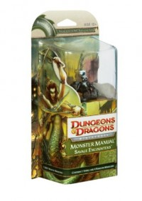 Wizards of the Coast DUNGEONS & DRAGONS Miniatures - Monster Manual Savage Encounters Drider Fanglord