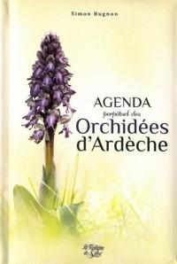 Agenda perpétuel des orchidées de l'Ardèche