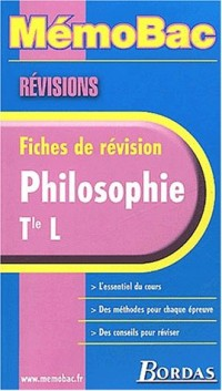 MEMO REVISION PHILO TERM. L    (Ancienne Edition)