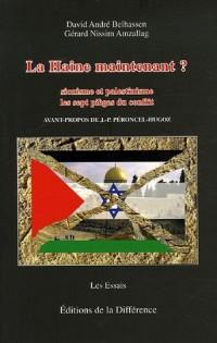 La Haine maintenant ? : Sionisme et palestinisme Les 7 pièges du conflit