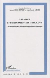 La langue et l'intégration des immigrants