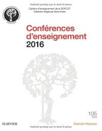 Conférences enseignement 2016
