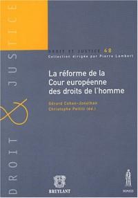 La réforme de la Cour européenne des droits de l'homme