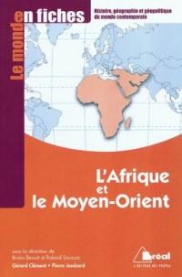 L'Afrique et la Moyen-Orient