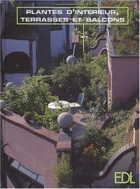 Plantes d'intérieur, terrasses et balcons. Un agréable cadre de vie